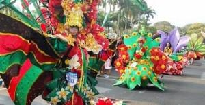 Festival Busana Bunga Digelar di Malang
