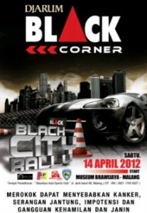 Djarum Black Corner Black City Rally