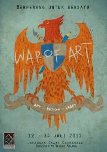 War of Art Art - Design - Craft