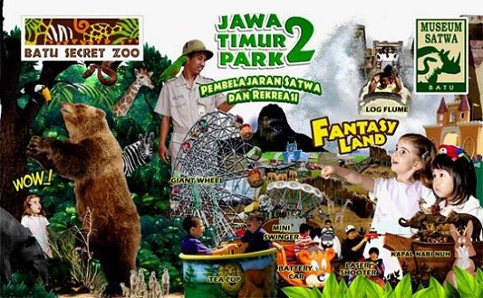 Objek Wisata Jawa Timur Park 2