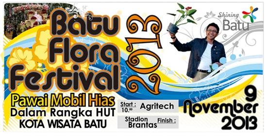 Festival Bunga Kota Batu 2013