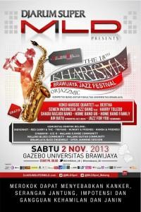 The 18th Kharisma, Brawijaya Jazz Festival Malang