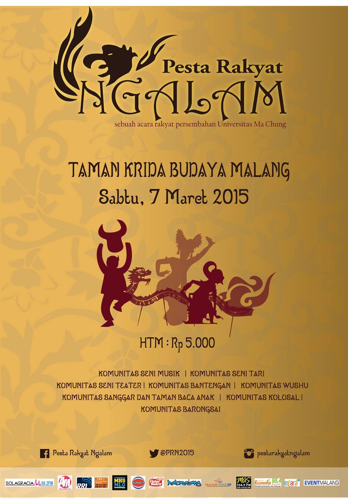 Pesta Rakyat Ngalam 2015 Malang