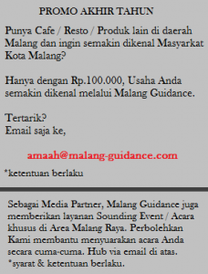 Iklan & Media Partner di Malang