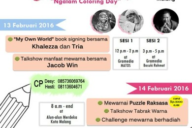 Ngalam Colour Day - Ngalor Day Kota Malang