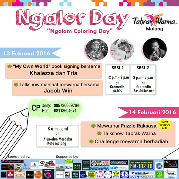 Ngalorday – Ngalam Colour Day by Tabrak Warna Malang