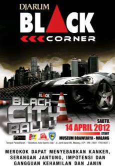 "Djarum Black Corner ""Black City Rally"""