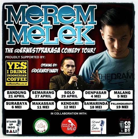 Merem Melek Stand-Up Comedy Tour