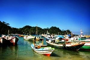 Pantai Sendang Biru Sempu