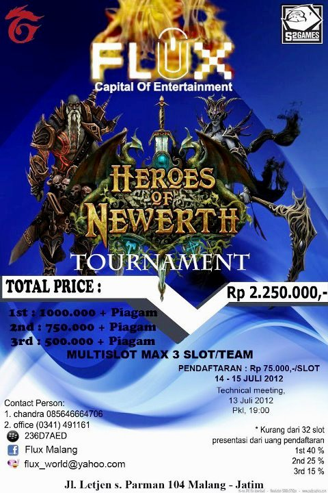 Flux Heroes of Newerth Tournament