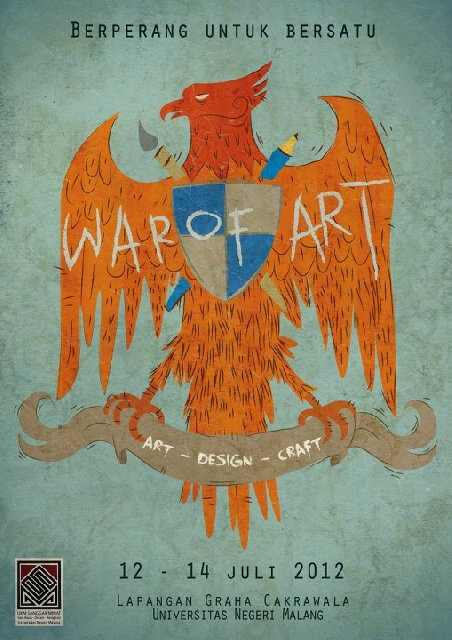 War of Art Art – Design – Craft