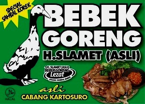 Bebek Goreng H. Slamet Malang