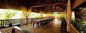 Restoran taman Indie