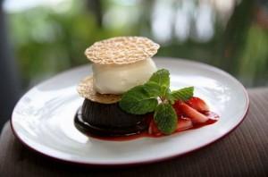 Terra Bistro Malang : Chocolate Melt