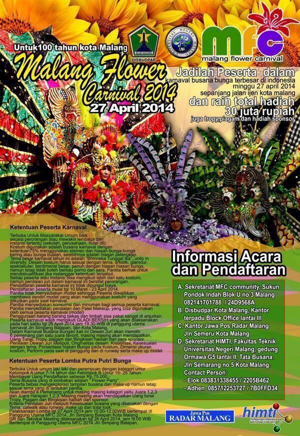 Malang Flower Carnival 2014