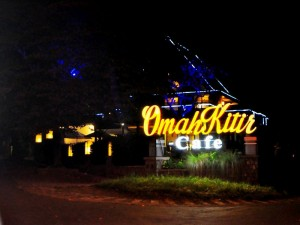 Cafe Omah Kitir Batu, Malang
