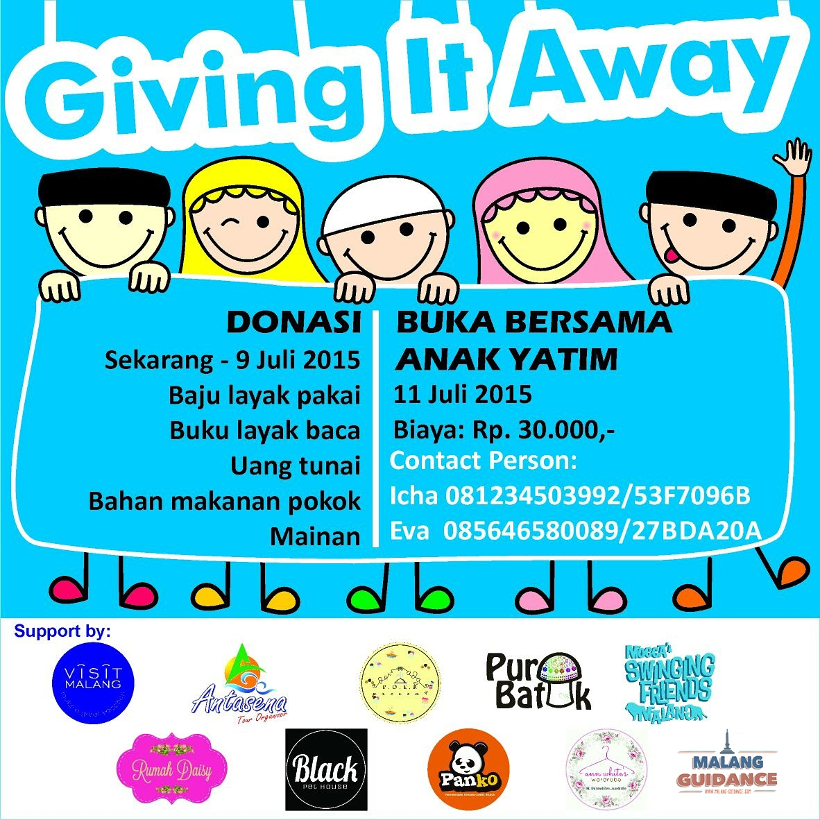 Giving it Away 2015 Malang
