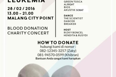 Charity for People with Leukemia YOT Malang