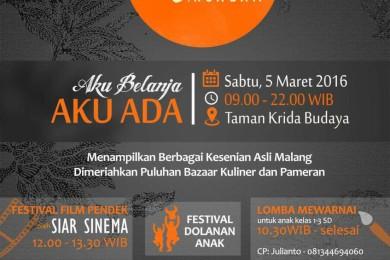 Pesta Rakyat Ngalam 2016 Malang MG