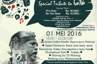 SATU Special Tribute to Iwan Fals Kota Malang