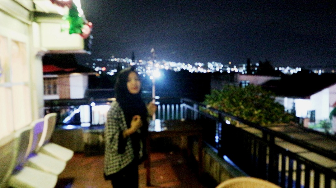 Omah Kitir Cafe Outdoor Malang