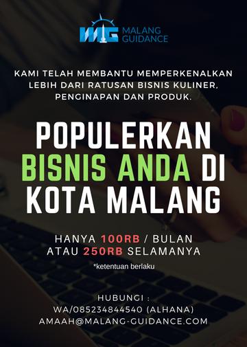 Iklan murah di Kota Malang