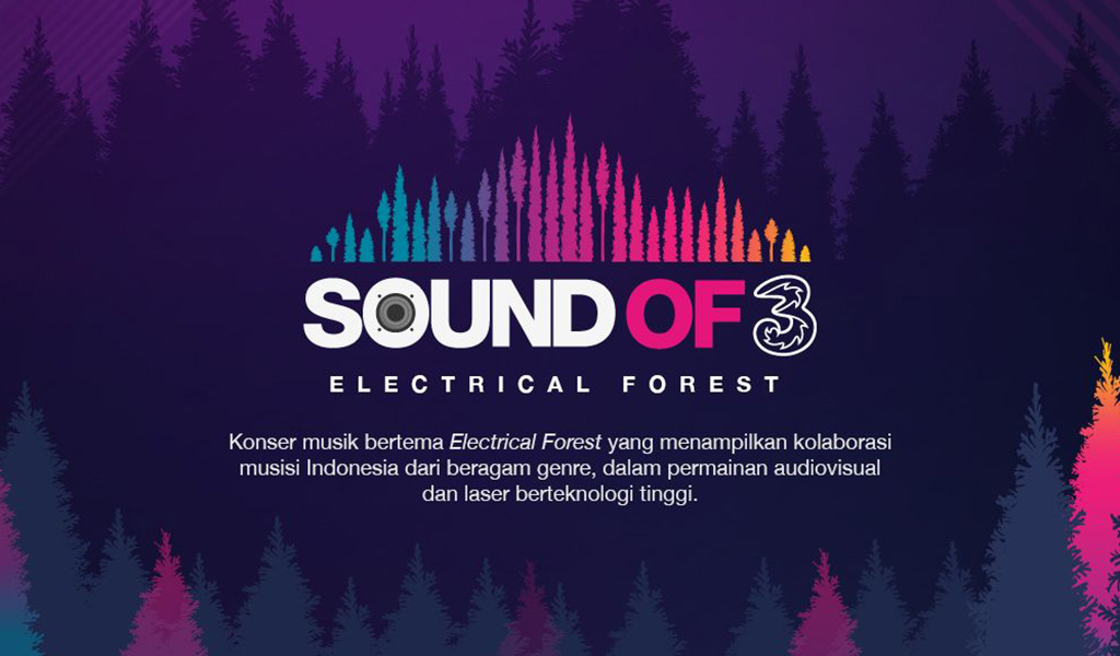Sound of Tri Electrical Forest Concert Kota Malang