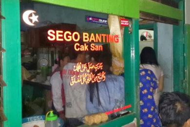 sego banting cak san malang guidance