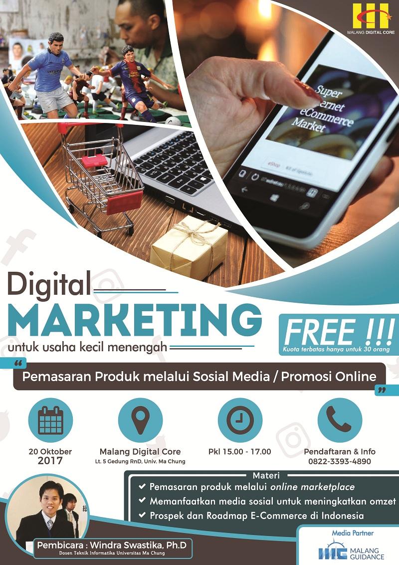 Digital Marketing Untuk Usaha Kecil Menengah (UKM)