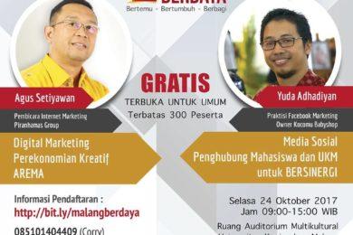 Malang Berdaya Agus Setiyawan & Yuda Ahadiyan
