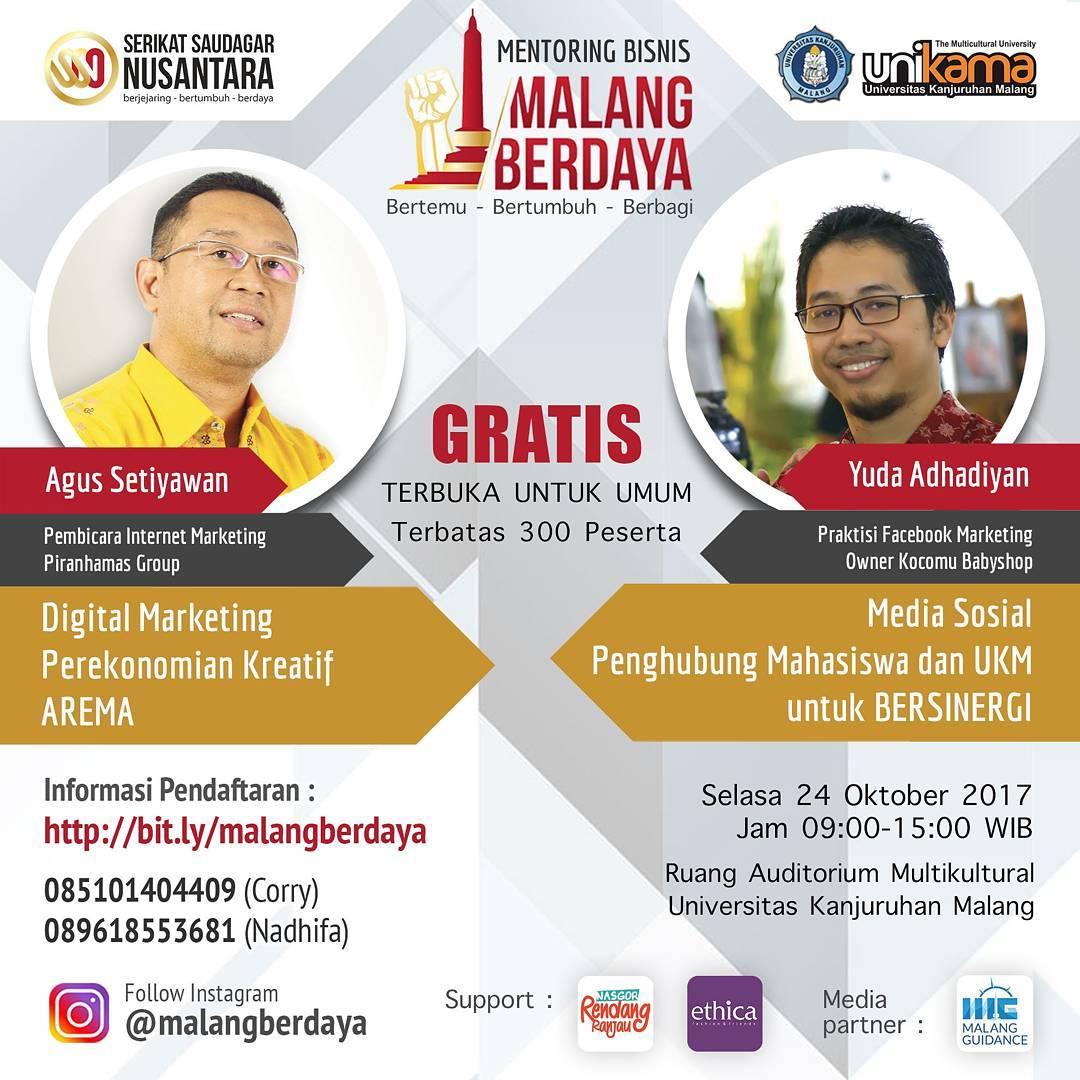 Mentoring Bisnis Malang Berdaya Part-II