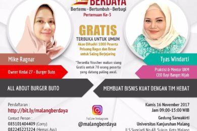 Malang Berdaya 3 – Serikat Saudagar Nusantara