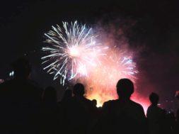 Spot melihat kembang api di Malang