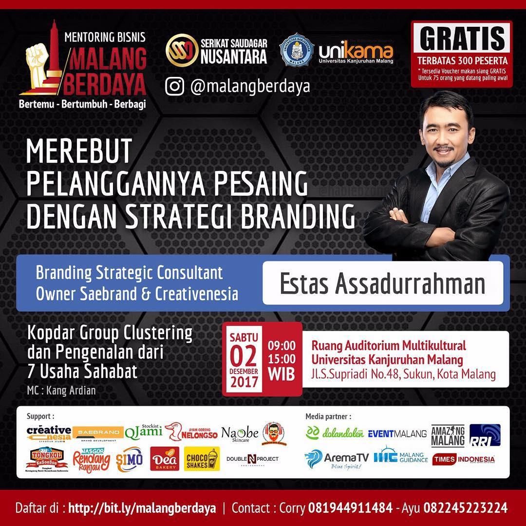 Mentoring Bisnis Malang Berdaya Part-IV