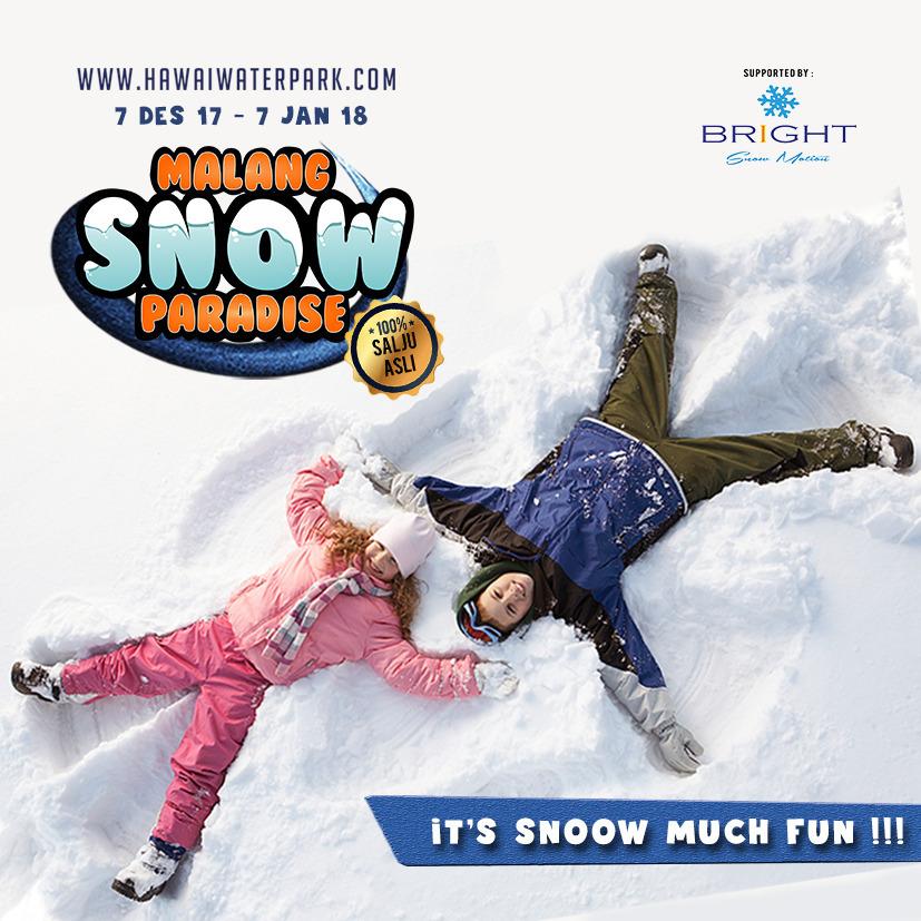 Malang Snow Paradise 2017