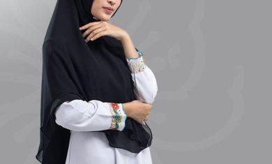 Toko hijab di pasar besar malang