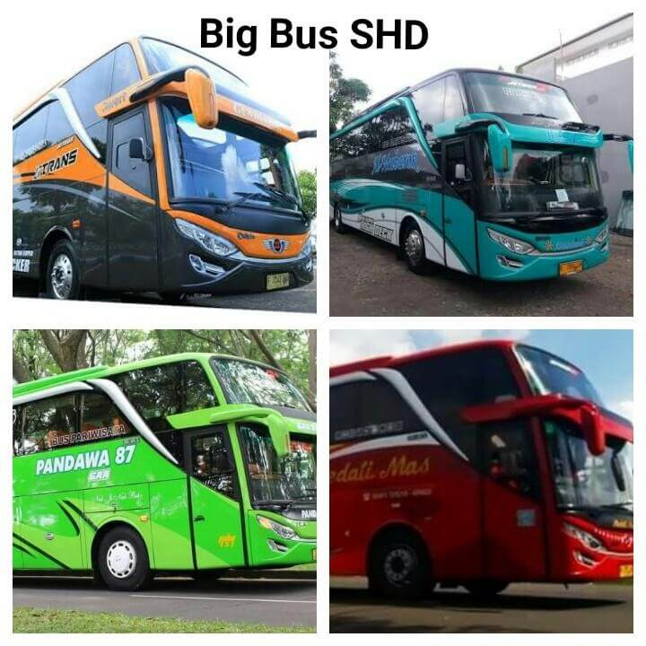 Rent Car Big Bus SHD Pariwisata