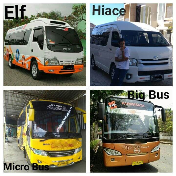 Rent Car Hiace Elf di Malang