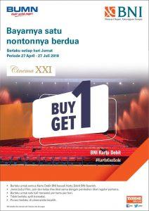 Promo tiket beli 1 gratis 1 Kota Malang