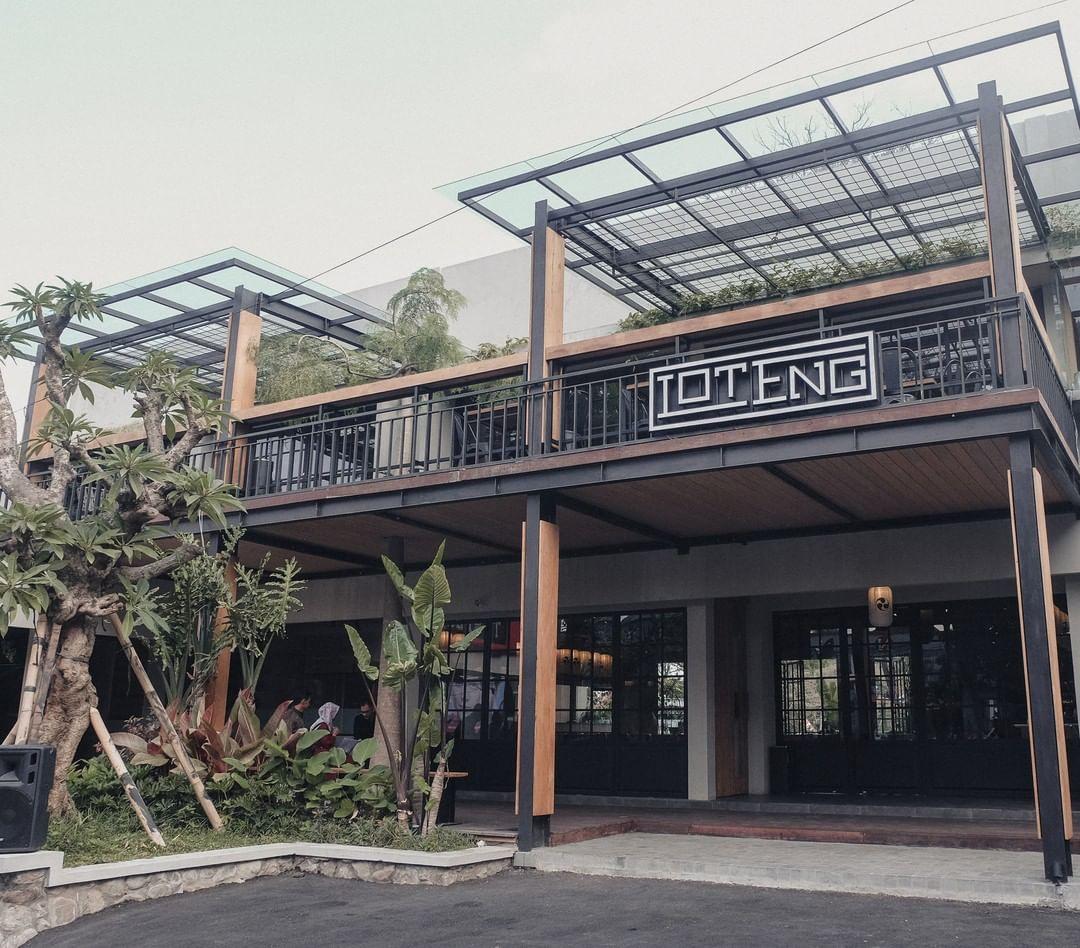 Lantai 1 & 2 Loteng Cafe