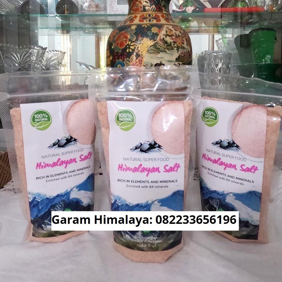 Jual Garam Himalaya Malang Raya (Pink Salt)